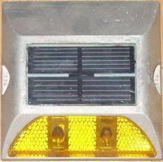 Đinh nhôm gắn mặt đường dùng năng lượng mặt trời (1 mặt)