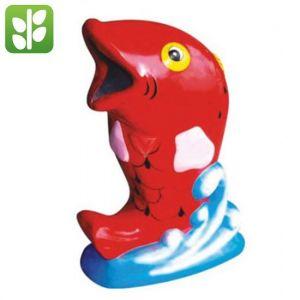 Thùng Rác Nhựa Composite Cá Chép Giá Rẻ - TRA0015