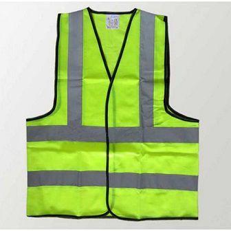 Áo bảo hộ lao động phản quang Ấn Độ 2 sọc