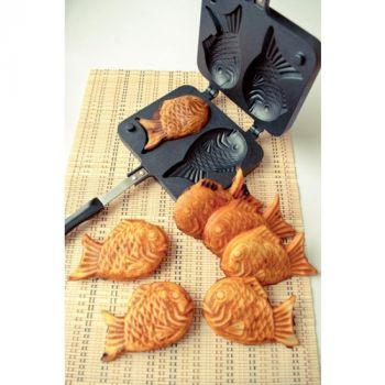 khuôn mẫu làm bánh cá