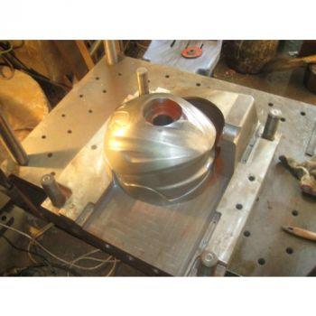 Khuôn mẫu sản xuất mũ bảo hiểm - KHE0003