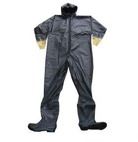Quần áo bảo hộ lao động liền chống Axit