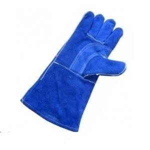 Găng tay da dài - da lộn mềm chống nóng EU 2 lớp