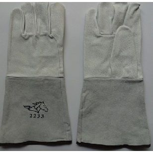 Găng tay da dài - da lộn mềm Việt Nam