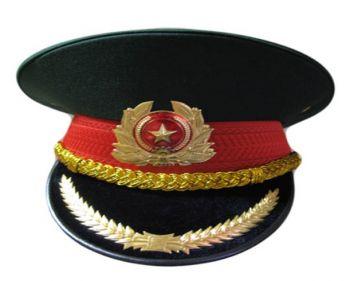 Mũ kepi xanh bộ đội chuyên dụng cho lực lượng vũ trang-MKP0002