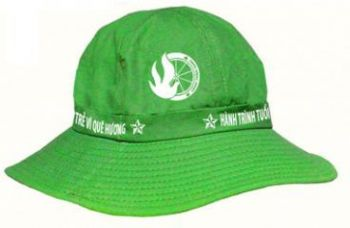 Mũ tai bèo xanh lá cây bền đẹp - MCO0006