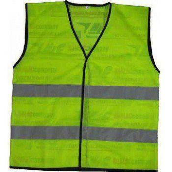 Áo bảo hộ lao động phản quang vải thoáng kiểu 2