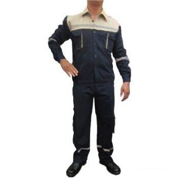 áo bảo hộ lao động bạc dày màu tím than