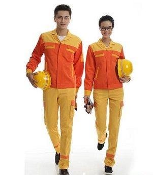 Quần áo bảo hộ lao động cam vàng
