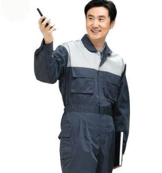 Quần áo bảo hộ lao động thợ hàn vải bạt phản quang
