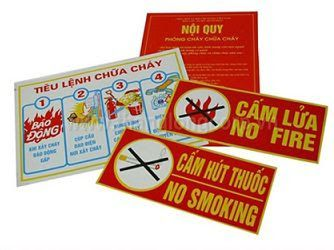 Tiêu Lệnh Phòng Cháy Chữa Cháy Cảnh Báo Cháy Nổ