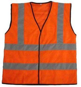 Áo bảo hộ lao động phản quang vải thoáng kiểu 1