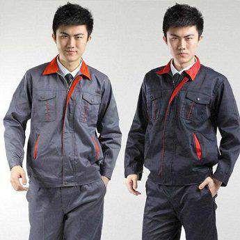 Quần áo bảo hộ lao động vải bạt dầy